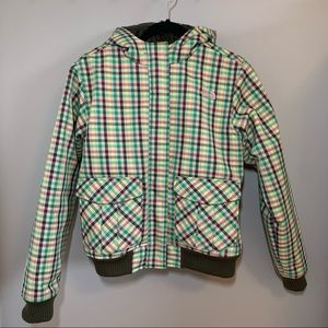 THE NORTH FACE Plaid Winter Coat